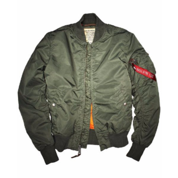 Green MA1 VF-59 Bomber Jacket ($195) ❤ liked on Polyvore featuring men's fashion, men's clothing, men's outerwear, men's jackets, mens green military jacket, mens green military style jacket, mens military style jacket, mens green jacket and mens polyester jackets