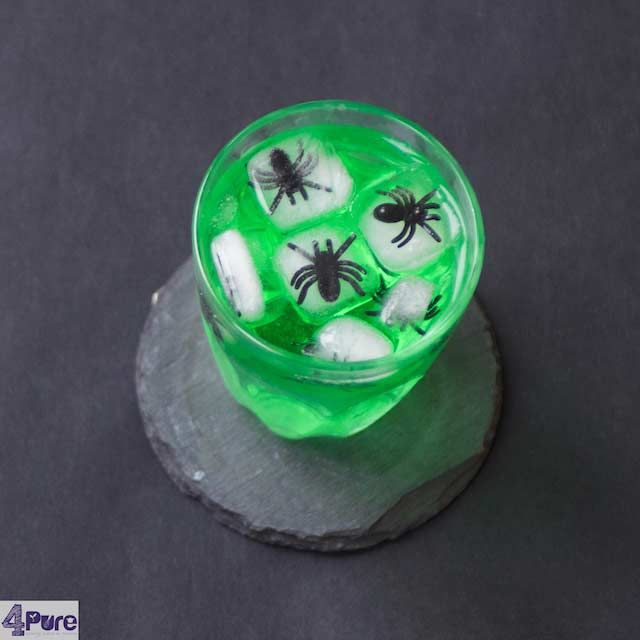 DIY Halloween - spider ice cubes4Pure by Andrea