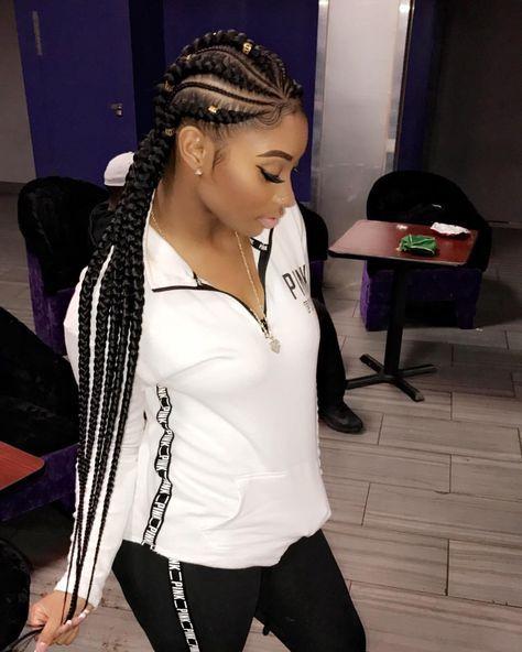 Feed in Ghana braids