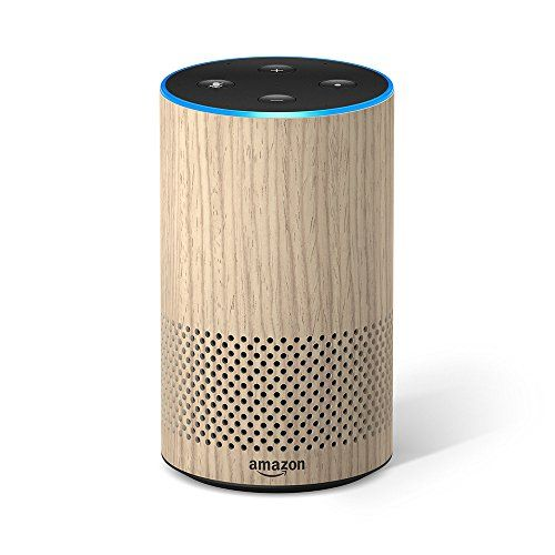 All New Echo 2nd Generation With Improved Sound Powered By Dolby And A New Design Oak Finish Amazon Echo Alexa Device Amazon Devices