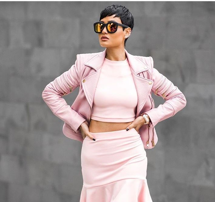 The spring color of 2015 blush pink