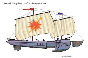 Sunspear privateer kite by Grindoctor