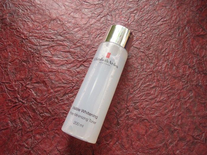 #ElizabethArden #Visible #Whitening #Pore #Minimizing #Toner #Review #price and details on the blog