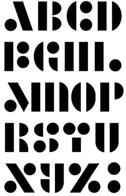 .Alphabet Typographie dessin, Calligraphie