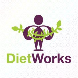 Exclusive Customizable Logo For Sale: Diet Works   StockLogos.com
