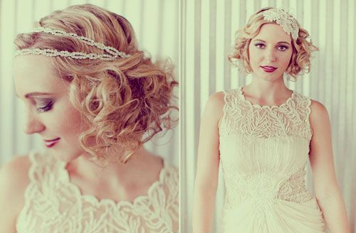 Bridal Hairstyles For Short Curly Hair - New Hairstyles, Haircuts & Hair Color Ideas