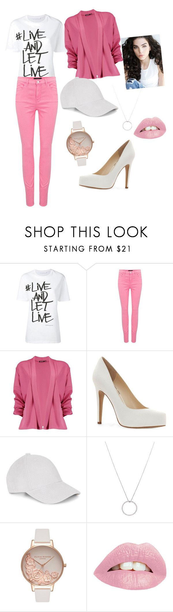 """Women's Style"" by jan45 ❤ liked on Polyvore featuring Neil Barrett, J Brand, Boohoo, Jessica Simpson, Le Amonie, Roberto Coin and Olivia Burton"