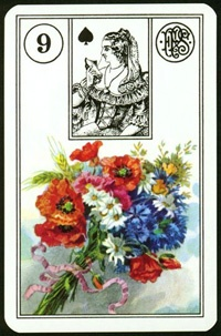 Bouquet - Lenormand Karty