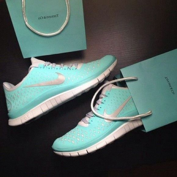 Tiffany blue Available at Ⓜ️ercari 🛍 please feel free to ask!! Shoes Athletic Shoes