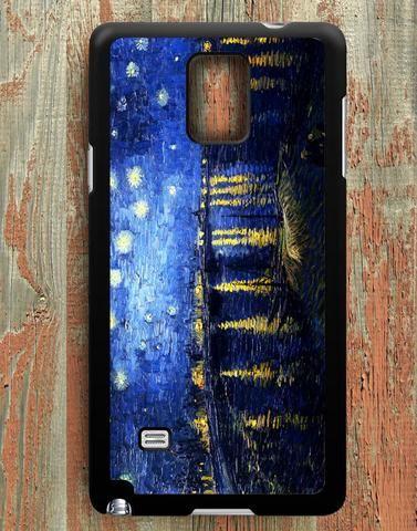 Starry Night Over The Rhone Van Gogh Samsung Galaxy Note 4 Case