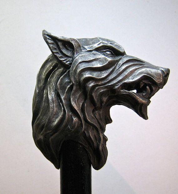 Wolf - Walking Stick