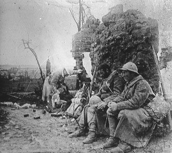 WW1, Battle of Verdun, 1916.