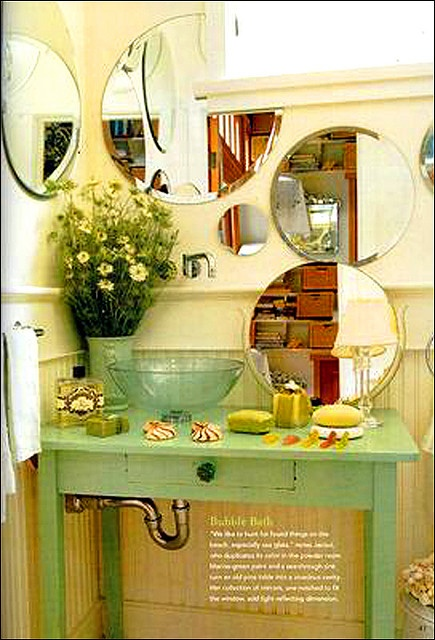159 best Decorating With Mirrors... images on Pinterest   Home ideas ...