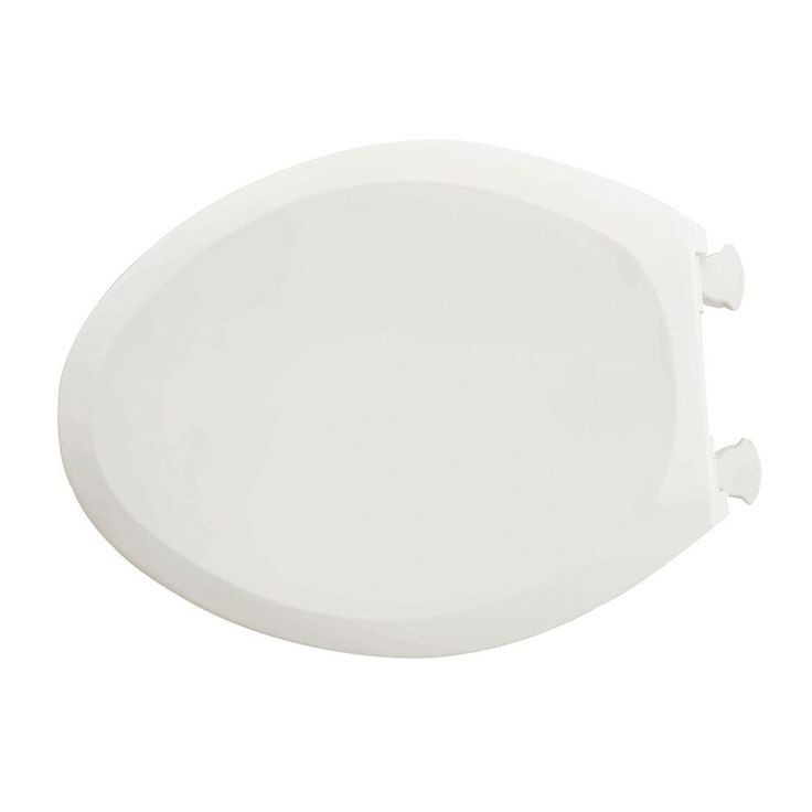 american standard champion slow close elongated closed front toilet seat in white