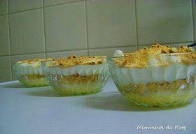 Receitas práticas de culinária: Doce de leite condensado, natas e bolacha!