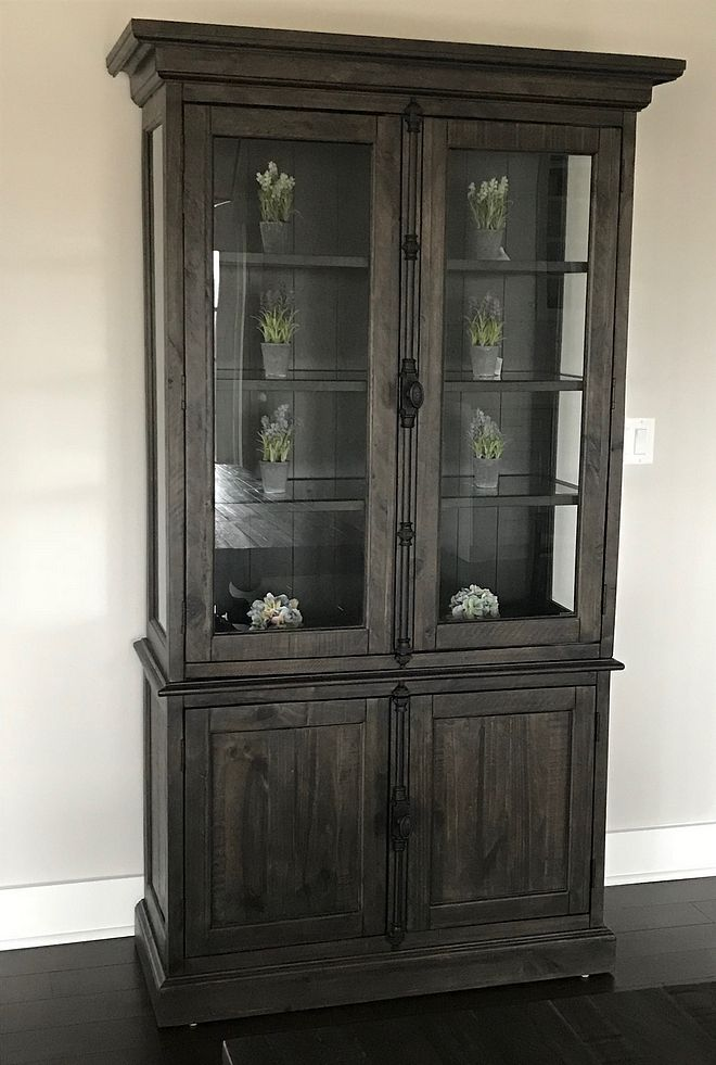 Dining Room China Cabinet Gl And Wood Ideas Source On Home Bunch