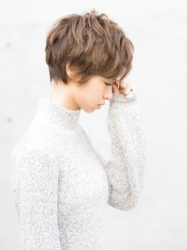 【hair make Marge】フレンチシックショート/hair make Marge (ヘア…