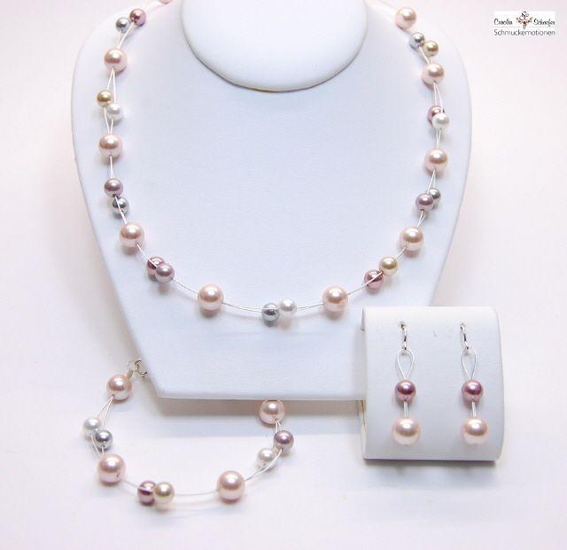 Brautschmuck set perlen  10 besten Brautschmuck Set Bilder auf Pinterest | Brautschmuck set ...