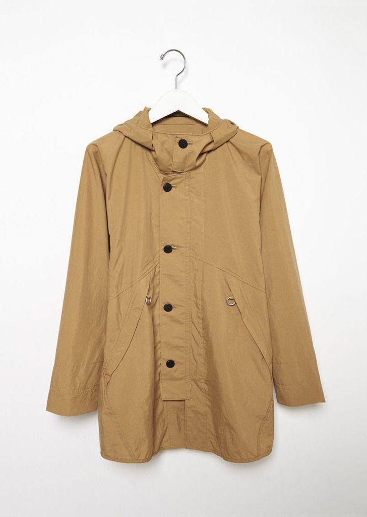 Tan Rain Jacket