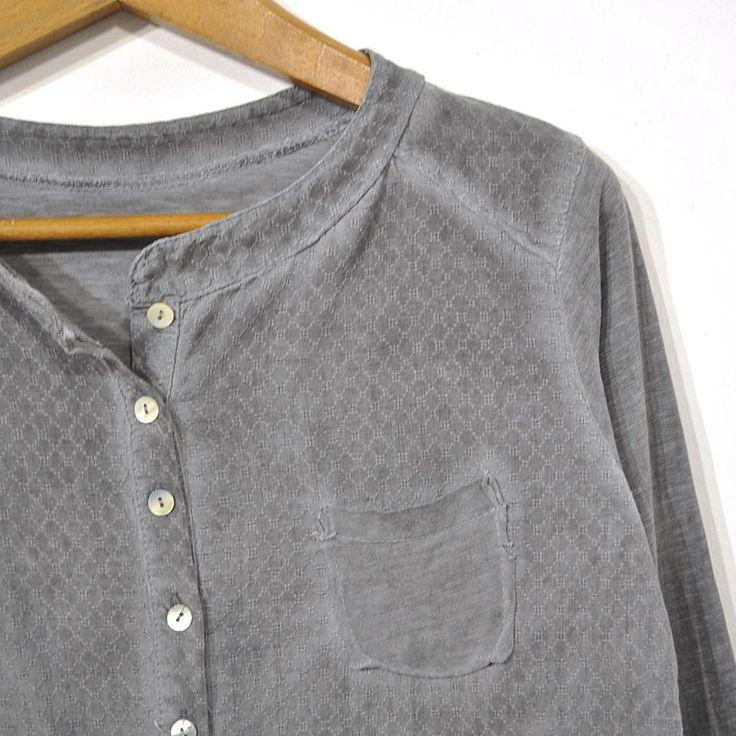 Camisa gris algodón