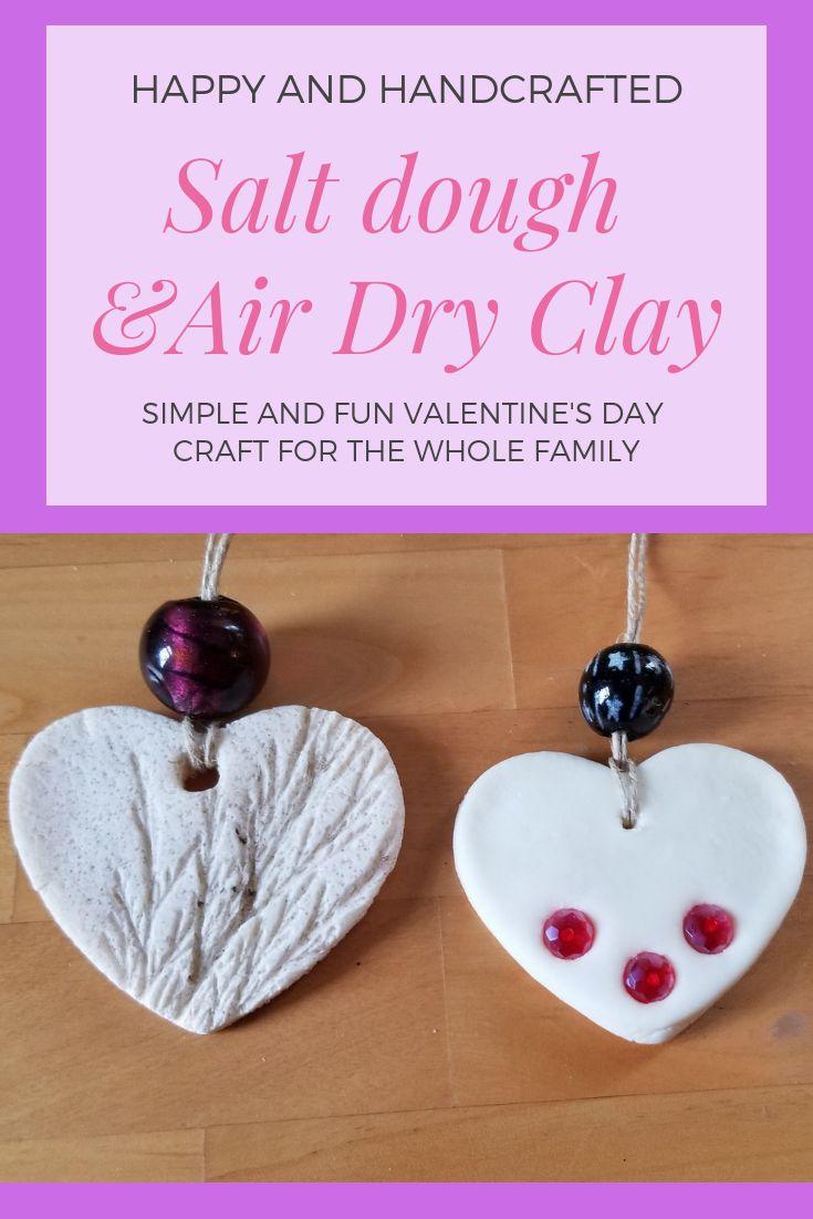 Easy Valentine's Day craft.