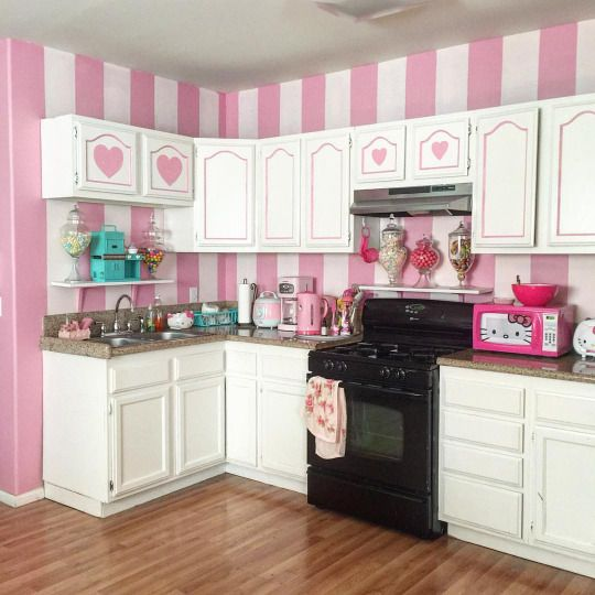 Ideas About Pink Kitchen Decor On Pink Kitchens,Pink Kitchen Decor,Kitchen  Decorating