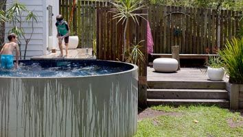 Brisbane Auchenflower plunge pool