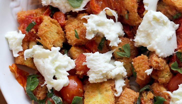 Culy Homemade: panzanella caprese salade - Culy.nl