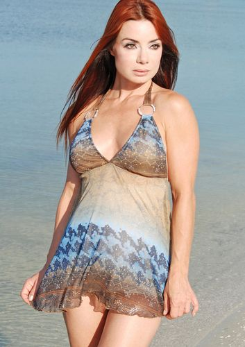 Blowing In The Wind Maternity Tankini Swimwear  #Maternity #Swimsuit #Tankini #Swimwear