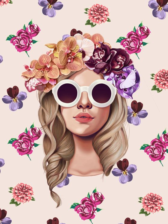 MIA on Behance  illustration