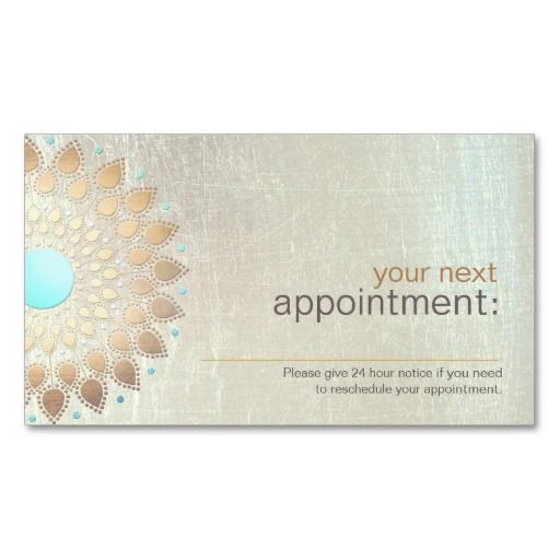 1000 images about appointment reminder business cards on for Appointment cards templates free