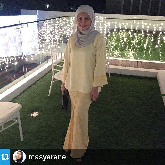 "71 Likes, 8 Comments - Mazira Mustapar (@ohalmaree) on Instagram: ""Thx dear for donning #ohalmaree #Repost @masyarene  #ohcustomer #sayajual #tailor #malaywedding…"""