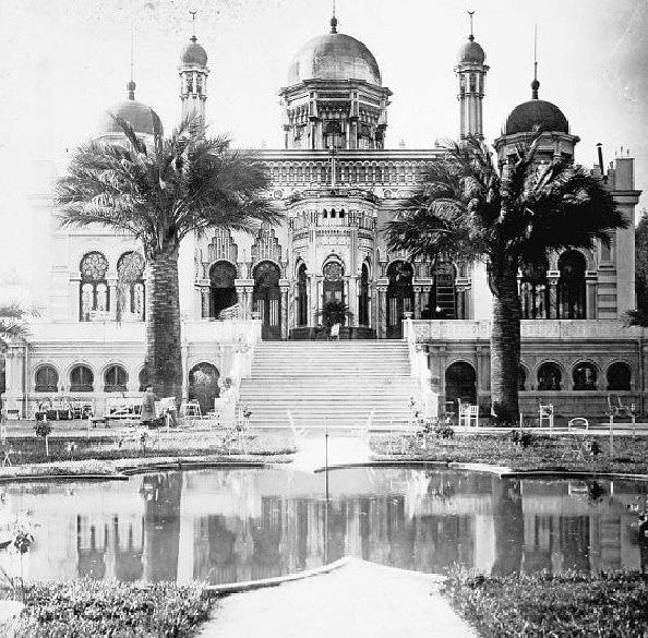 Palacio Concha - Cazotte, construido en 1875 y demolido en 1932. Ahí existe hoy el barrio Concha y Toro.