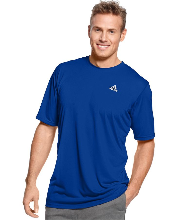 adidas Big and Tall Shirt, Climalite T-Shirt - Big & Tall Activewear - Men - Macy's