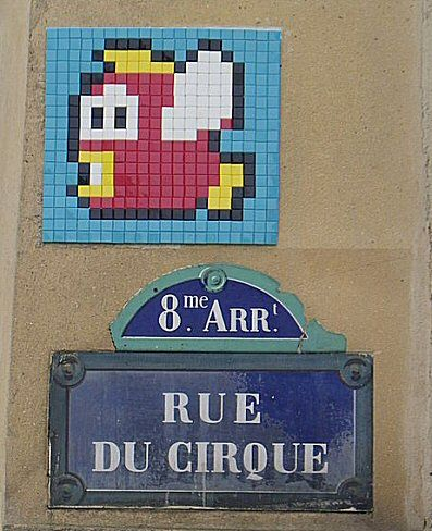 La rue du Cirque  (Paris 8ème)
