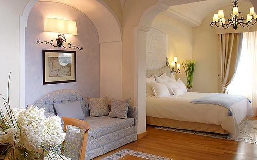 Capri Tiberio Palace Hotel & Spa, Capri, Italy, Bedroom by Capri Island, via Flickr