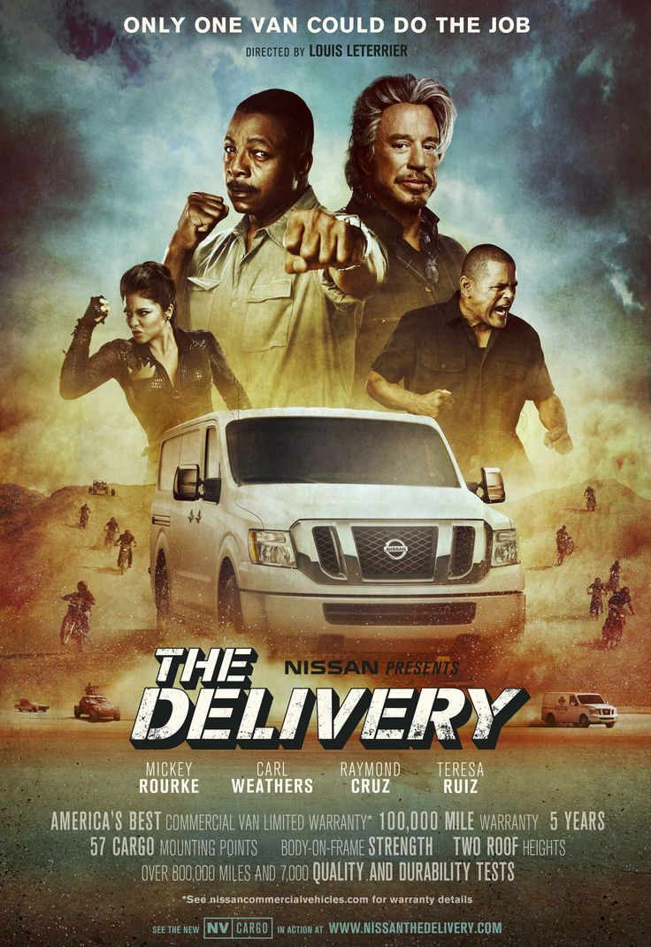 Nissan presents the delivery
