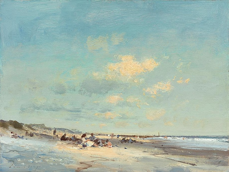 Edward Seago Summer Afternoon Waxham Beach