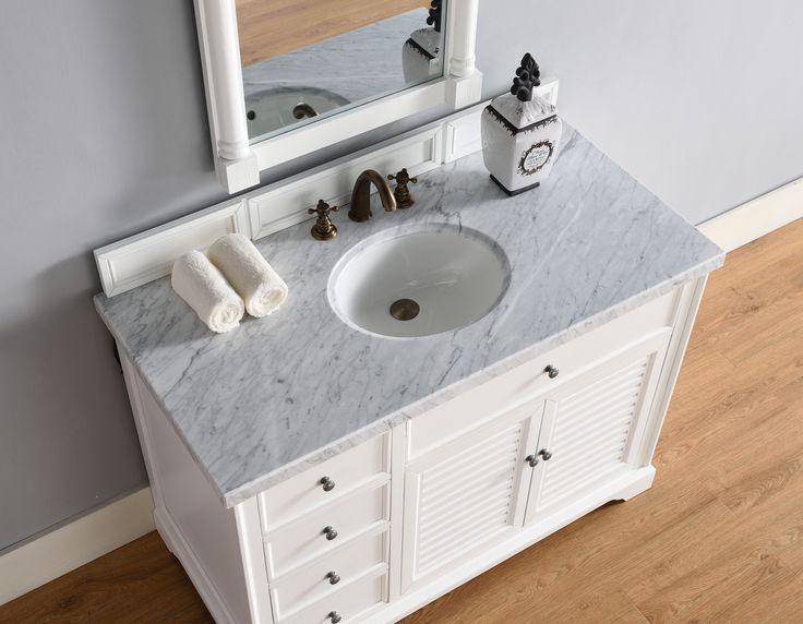 48 Zoll Bad Eitelkeit - Mehr auf unserer Website - Welche Farbe zu - wasserfeste farbe badezimmer