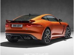 Jaguar F-Type SVR – first Jaguar SVR as new halo model Jaguar sports car