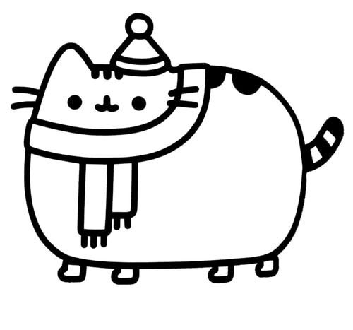 Found On Bing From Blackpearldecals Com Cat Decal Cat Decal Stickers Pusheen Coloring Pages