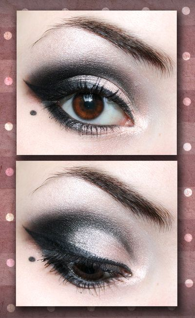 vintage make up: Beautiful Mark, Vintage Makeup, Gorgeous Eye Makeup, Smoky Eye, Dark Eye Makeup, Dark Shadows, Eye Make Up, Smokey Eye, Beautiful Eye