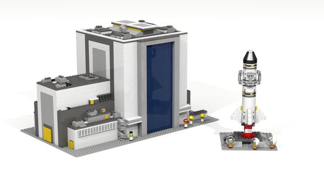 LEGO Ideas - Kerbal Space Program - Vehicle Assembly Building