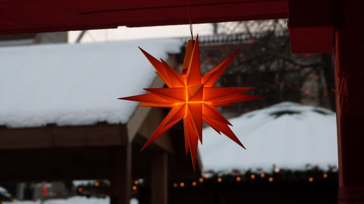 Original Herrnhut plastic star, yellow, ~ 13 cm / 5 inch ø #mybrilliantstar #herrnhutstar #moravianstar #christmas #decoration #minneapolisholidaymarket