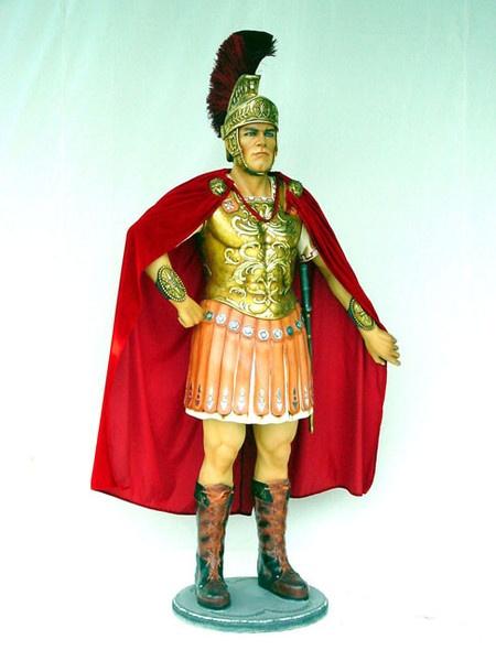 réplicas de soldados romanos