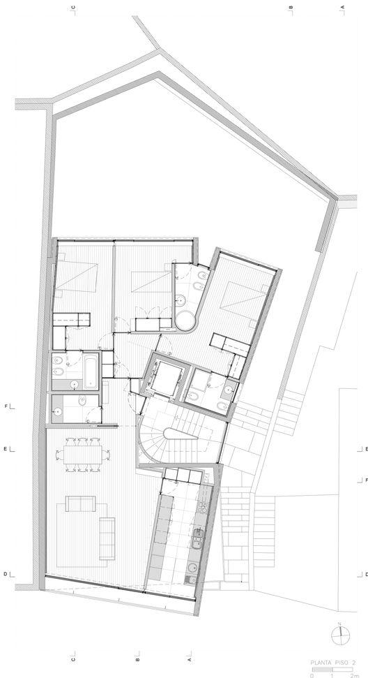 Edificio Cantareira,Planta Nivel 02