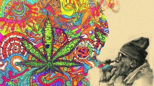 gorgeous art work #cannabis #creative