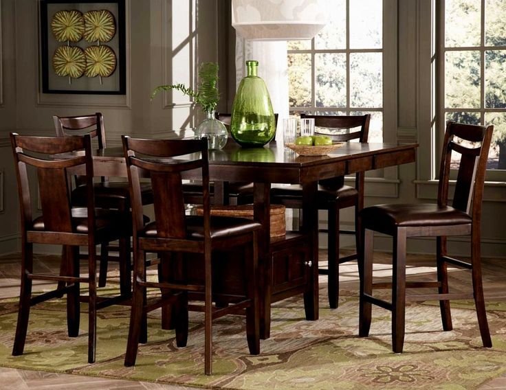 Tall Dining Table Pinterest