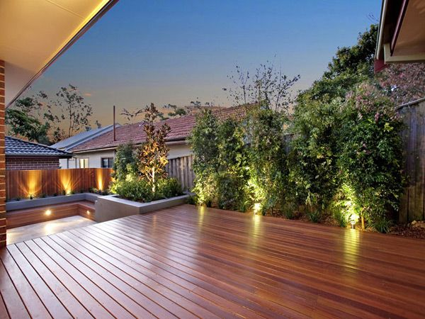 Large decked garden area haus und hof pinterest for Decked garden designs