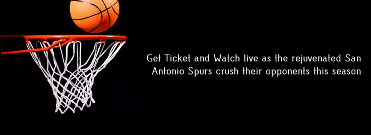 Get San Antonio Spurs tickets and watch the team of legends play live.  www.ticketluck.com